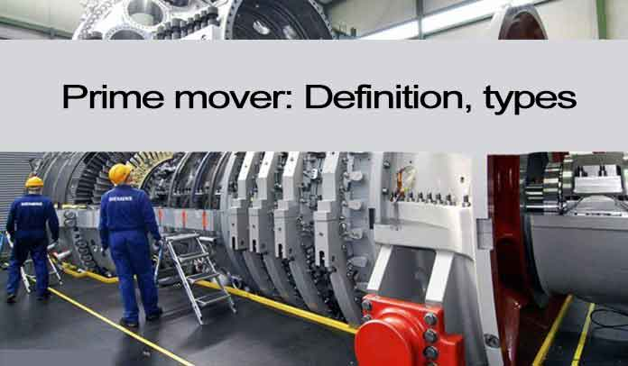 What Is Prime Mover | Types | Explanations | Talk About Turbines